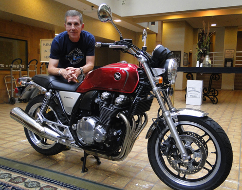 Jon Siedel and the Honda CB1100