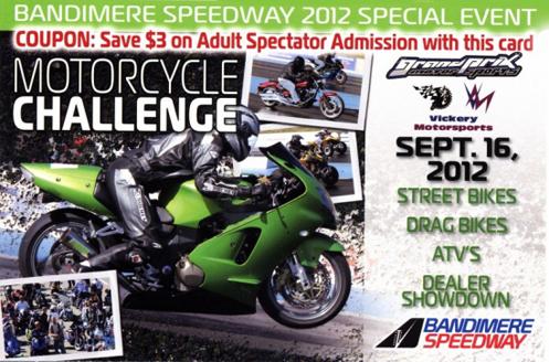 Drag racing at Bandimere Speedway