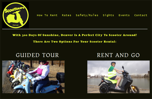 ScooTours website