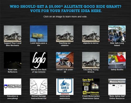 Allstate Good Ride Grants