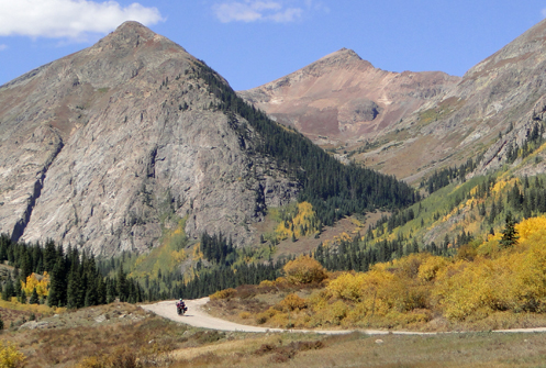 Motorcycling In Colorado
