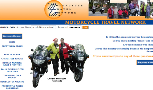 Motorcycle Travel Network