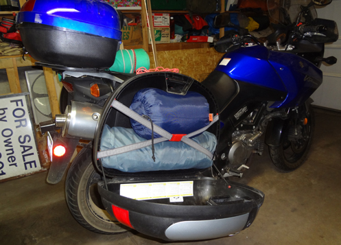 Pack For Motorcycle Camping