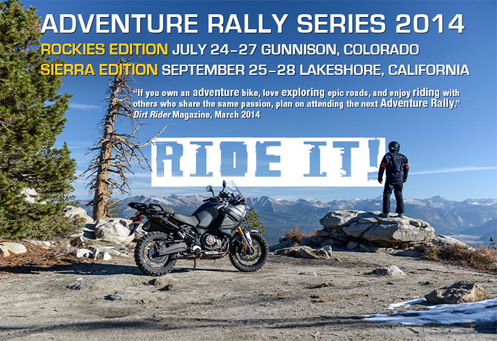 Adventure Rally Series 2014