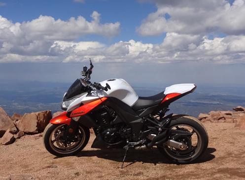 Kawasaki On Pikes Peak