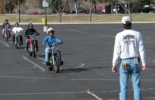 motorcycle rider training