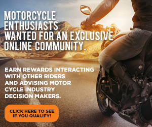 Motorcyclists wanted promo