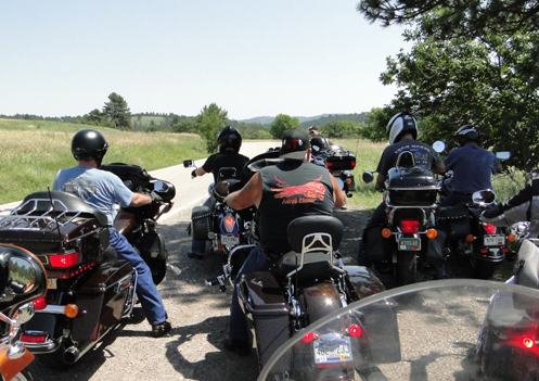The OFMC on a ride
