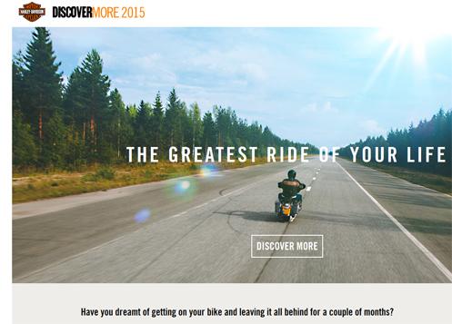 Harley rider wanted