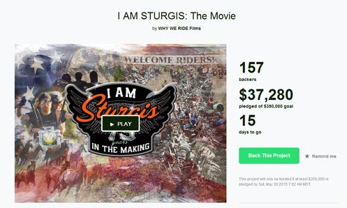 I Am Sturgis on Kickstarter
