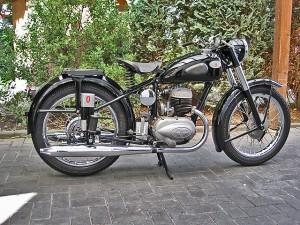 A Zundapp motorcycle