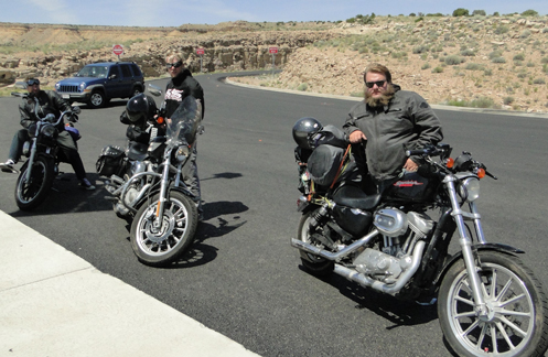 Three Sportsters