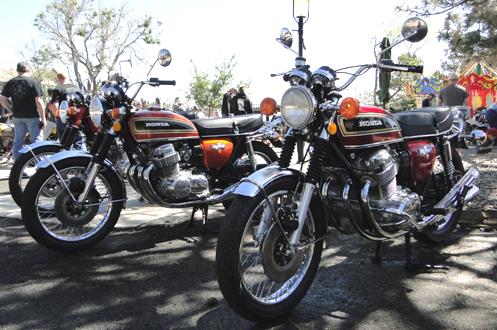 Old Honda CB750s