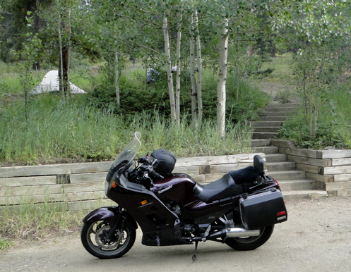The kawi at Cold Springs Campground
