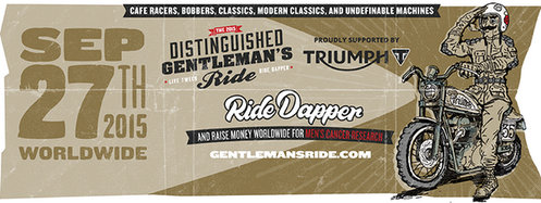 Distinguished Gentlemen's Ride