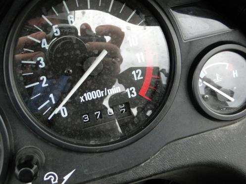 motorcycle odometer
