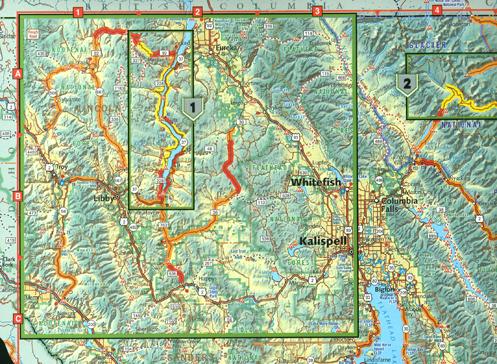 Butler Maps Montana