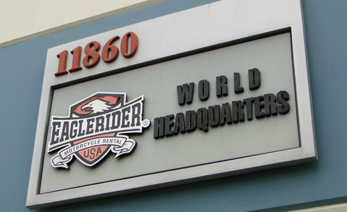 EagleRider World Headquarters, in Los Angeles