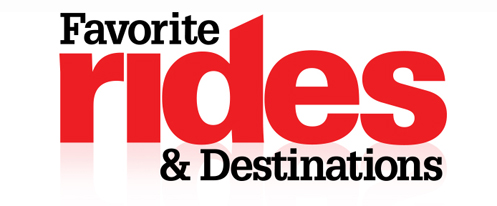 Favorite Rides & Destinations logo