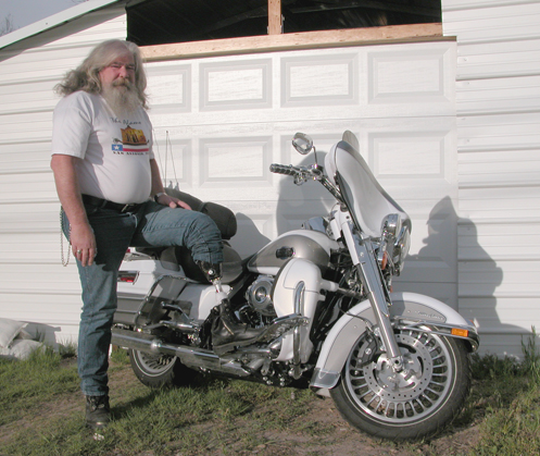 motorcyclist who lost a leg