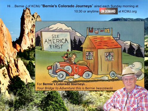 "The ""Bernie's Colorado Journeys"" website"