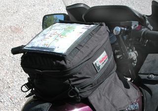 motorcycle tank bag