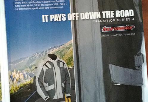 motorcycle jacket ad
