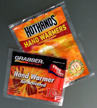 chemical hand warmers